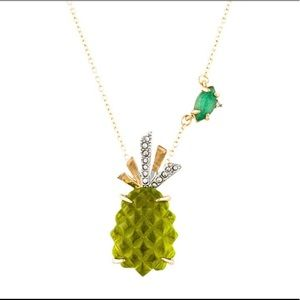 NWOT Alexis Bittar Pineapple Pendant Necklace